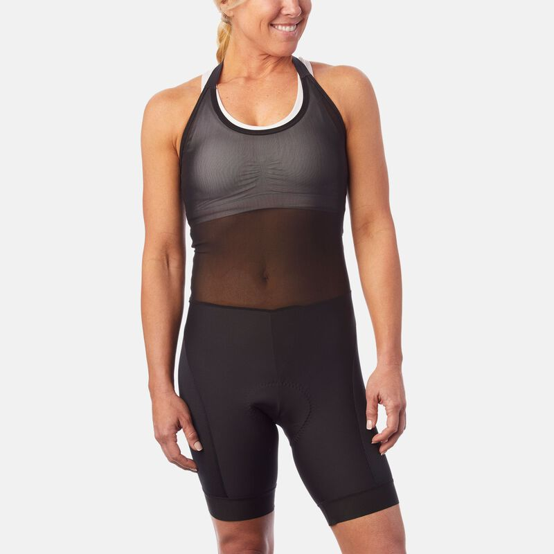 Womens Base Liner Halter Bib Short