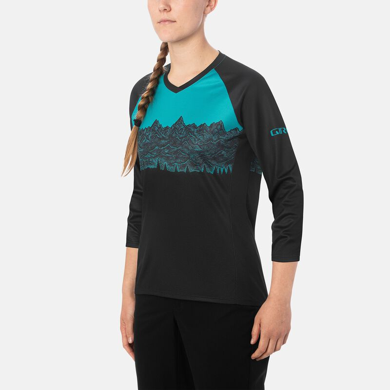 Womens Roust 3/4 Jersey