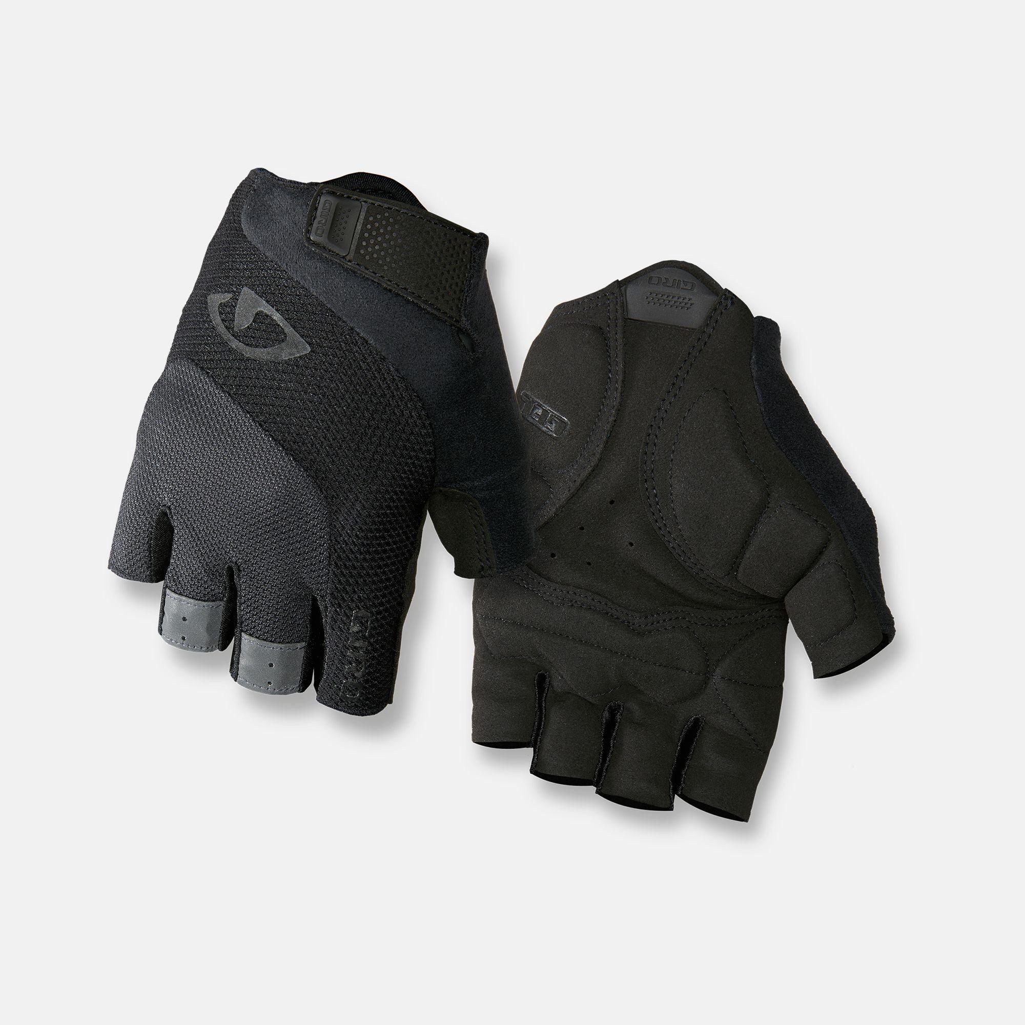 Giro Bravo Gel Cycling Gloves White Black