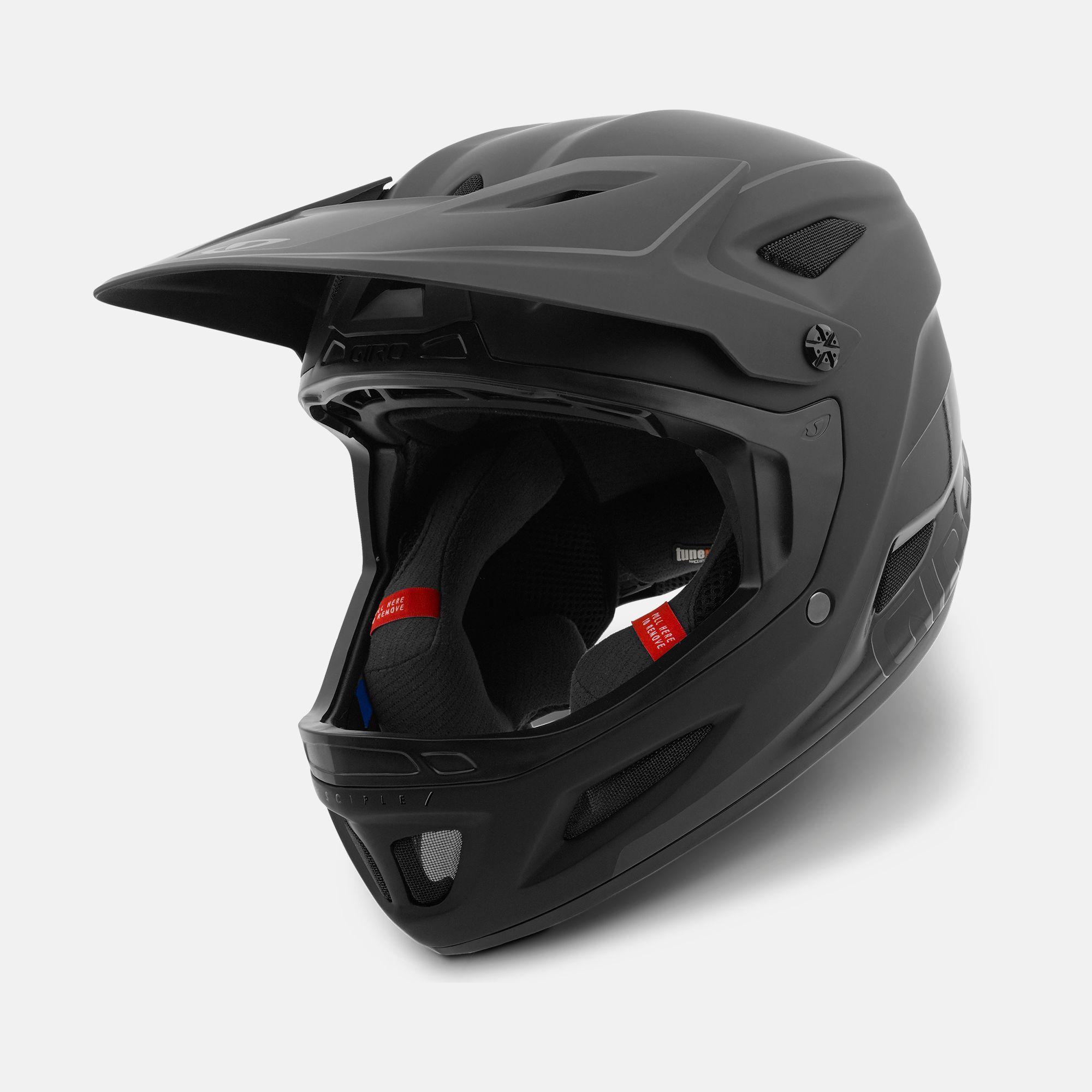 Giro Cinder Disciple MIPS Full Face Bike Helmet 2018 Matt /& Gloss Black 4 Sizes