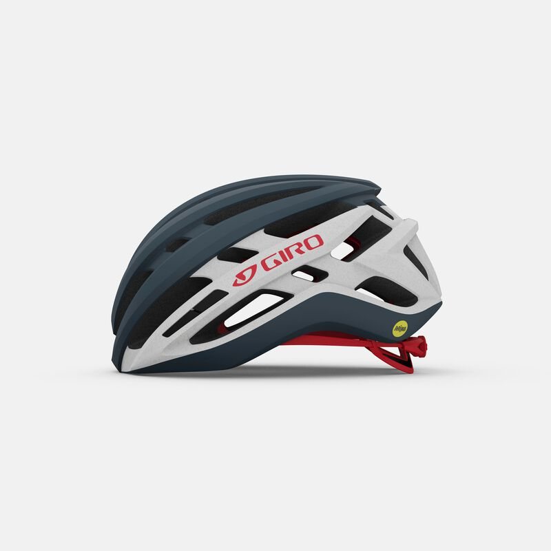Giro AGILIS bici bicicletta da corsa//Cross//Gravel Casco ben ventilate BLACK-ROSSO