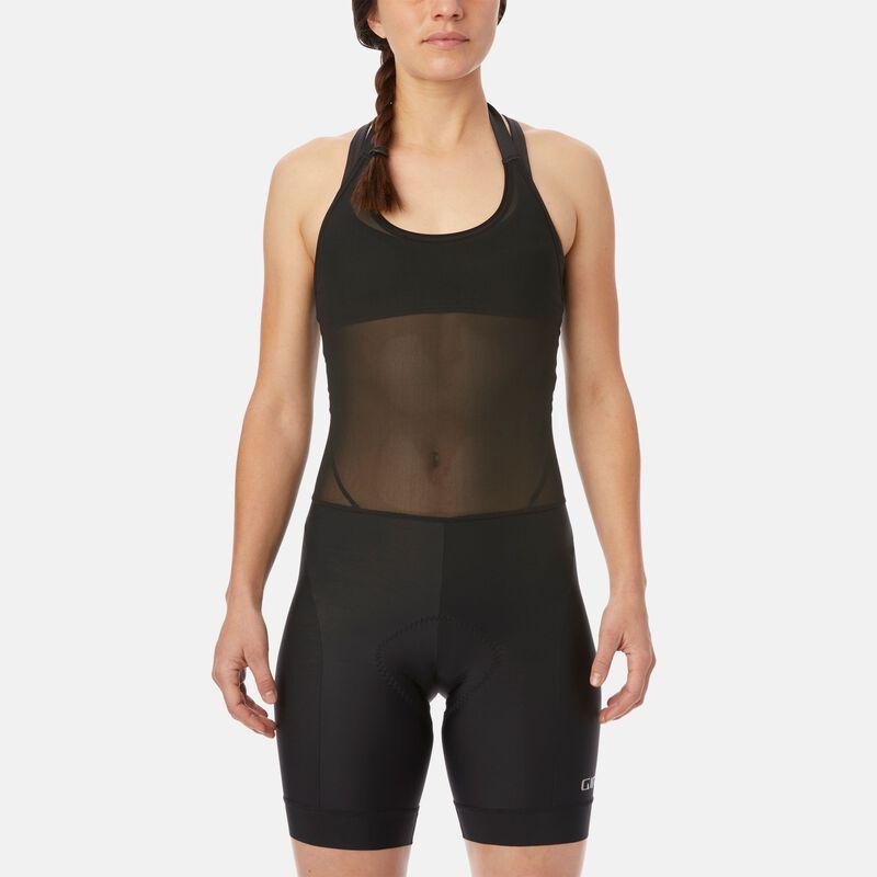 Womens Chrono Sport Halter Bib Short
