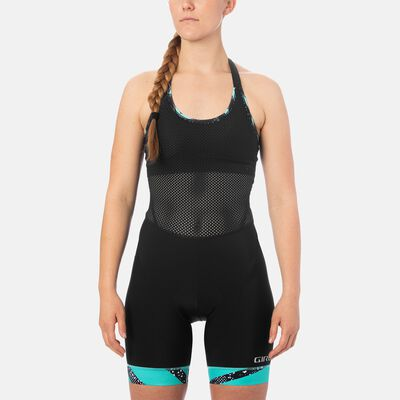 Womens Chrono Expert Halter Bib Short