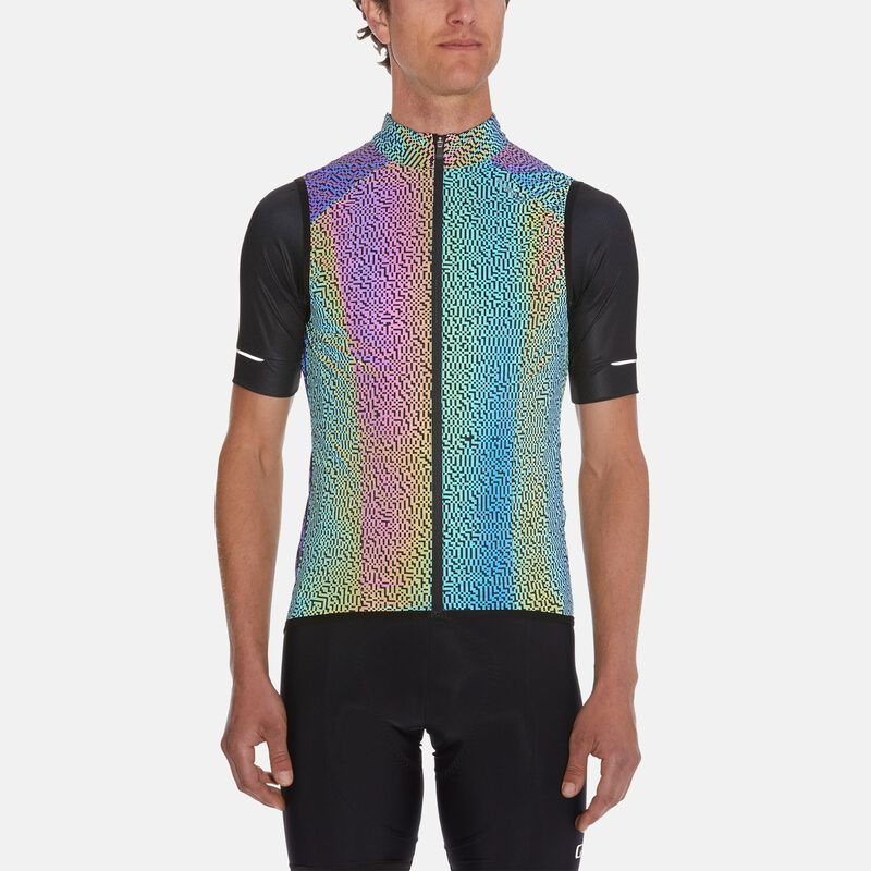 Mens Chrono Expert Reflective Wind Vest