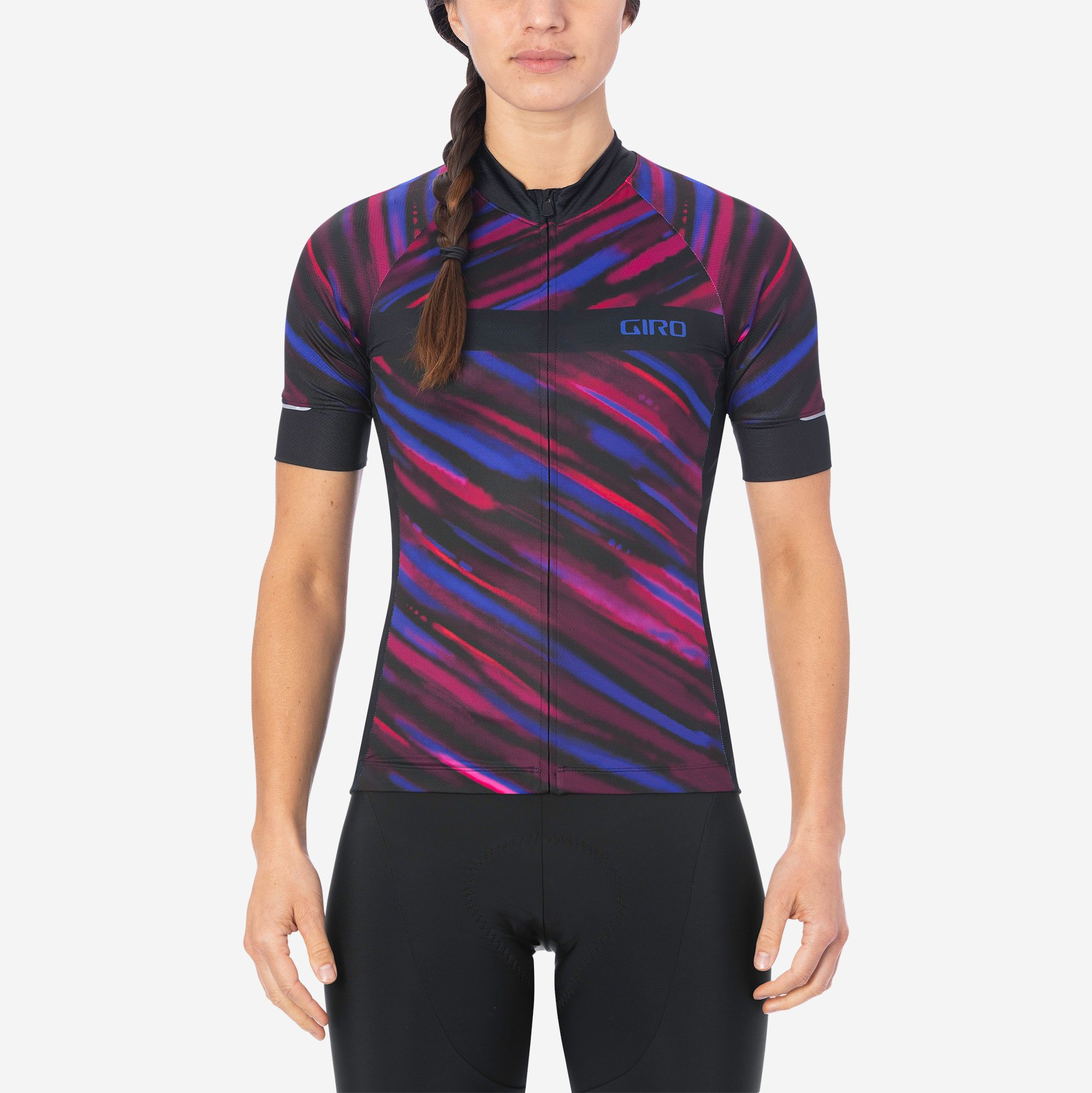 Giro Women/'s Chrono Sport Pink Black Jersey Size M New