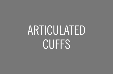 ARTICULATED CUFFS.