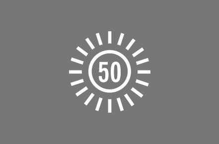 UPF 50+.