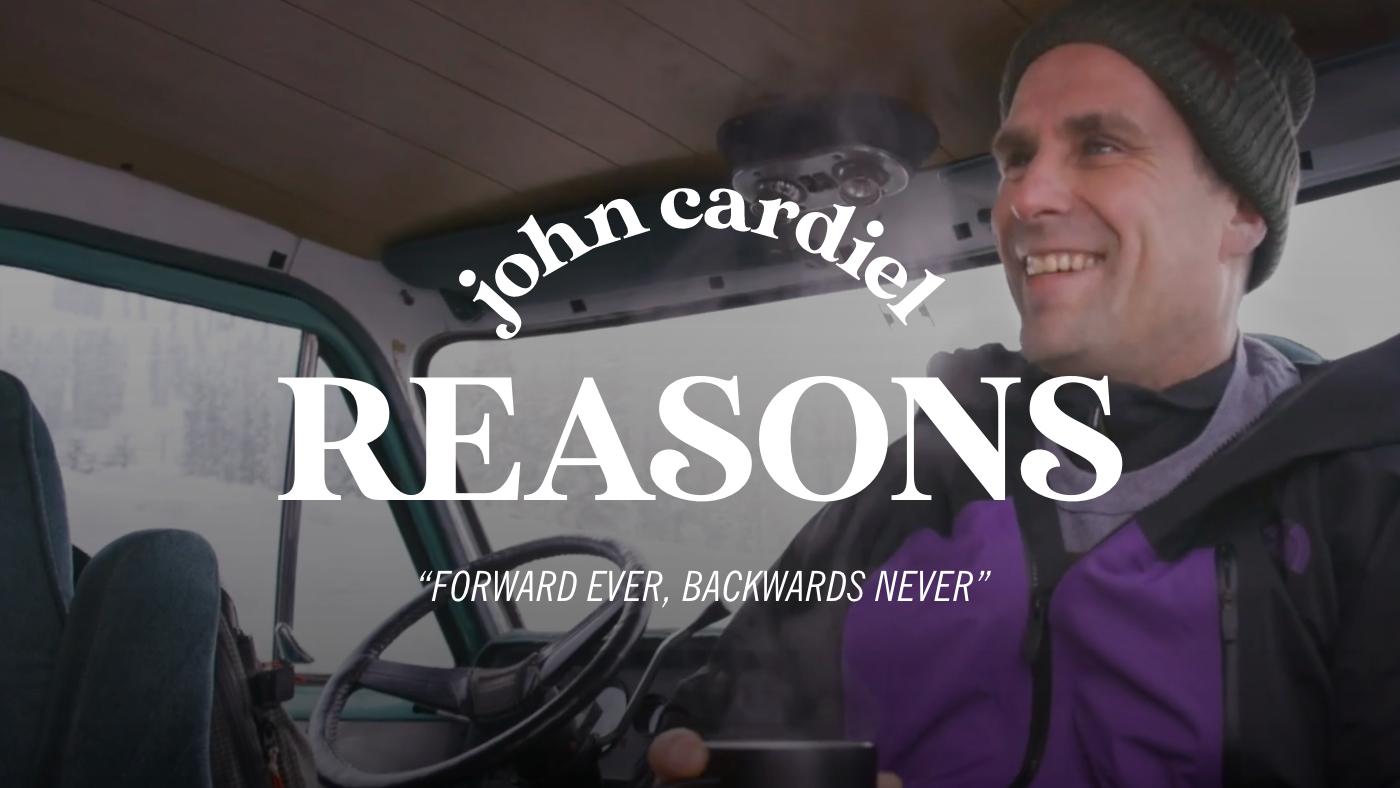 REASONS WITH JOHN CARDIEL & BRYAN FOX – FORWARD EVER, BACKWARDS NEVER