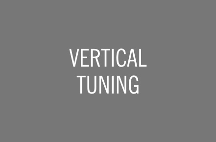 VERTICAL TUNING.
