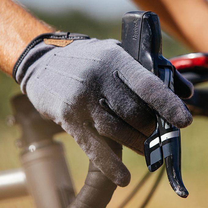 Long Finger Cycling Gloves Giro D/'wool Mtb//Gravel Black
